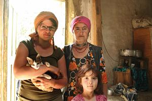 Anne in Tadschikistan