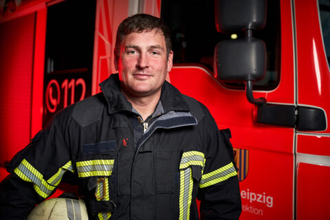 Robert Kühne, Brandoberinspektor