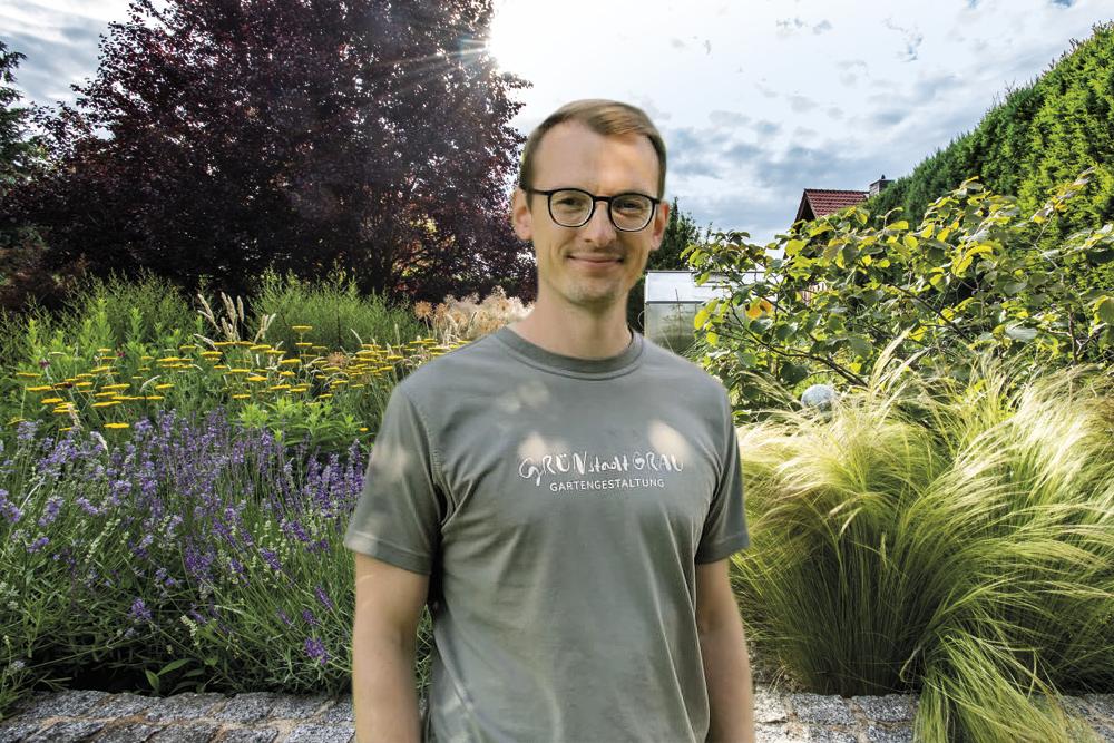 Landschaftsgärtner Philipp Wassermann