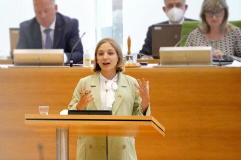 Lucie Hammecke, Mitglied des Sächsischen Landtages